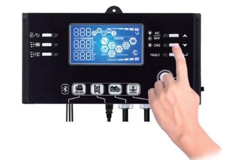 Modulo de control Inversor Cargador Solar Huber VM III