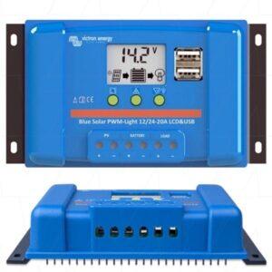 Regulador Solar PWM LCD Victron