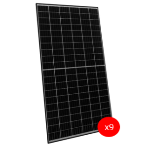 Kit Autoconsumo Solar: Placa Solar 340W Monocristalina HC PERC