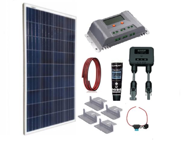 Kit Solar 165W MPPT Autocaravana/Caravana