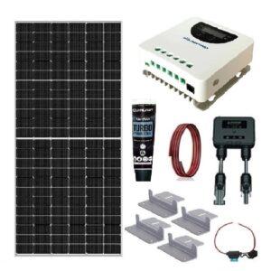 Kit Solar 370W MPPT Autocaravana/Caravana